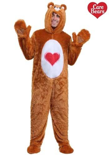 Adult Plus Classic Tenderheart Care Bear Costume