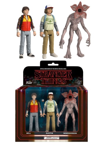 Action Figure: Stranger Things 3 pack (Will, Dusti
