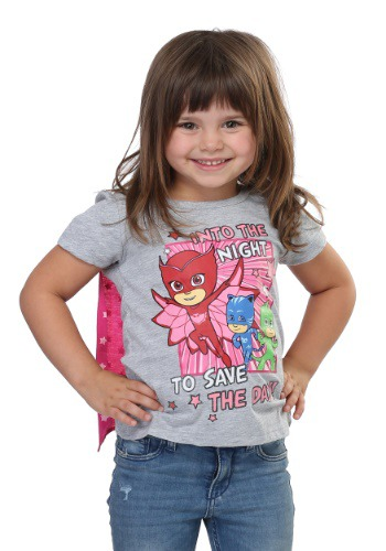PJ Masks 'Save the Day' Caped Girls Tee