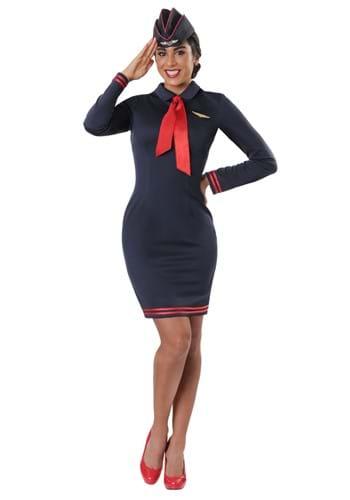 Women's Working the Skies Flight Attendant Costum1e