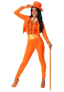 Orange Tuxedo Costume for Women