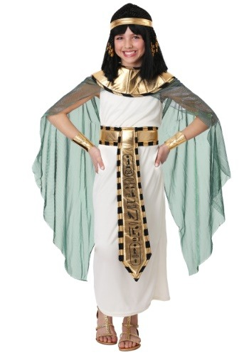 Queen of the Nile Girl's Costume