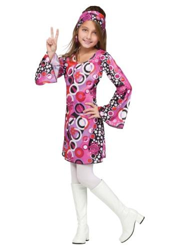 Feelin' Groovy Girls Costume