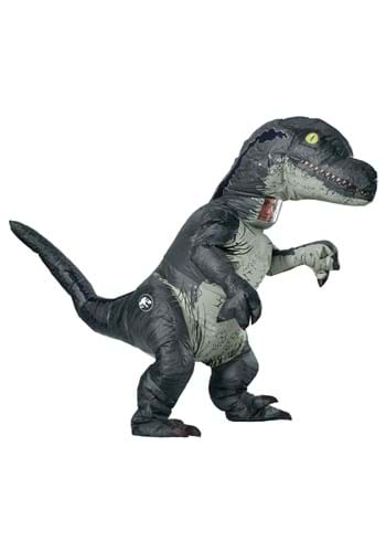 Jurassic World Inflatable Velociraptor Costume for Adults up