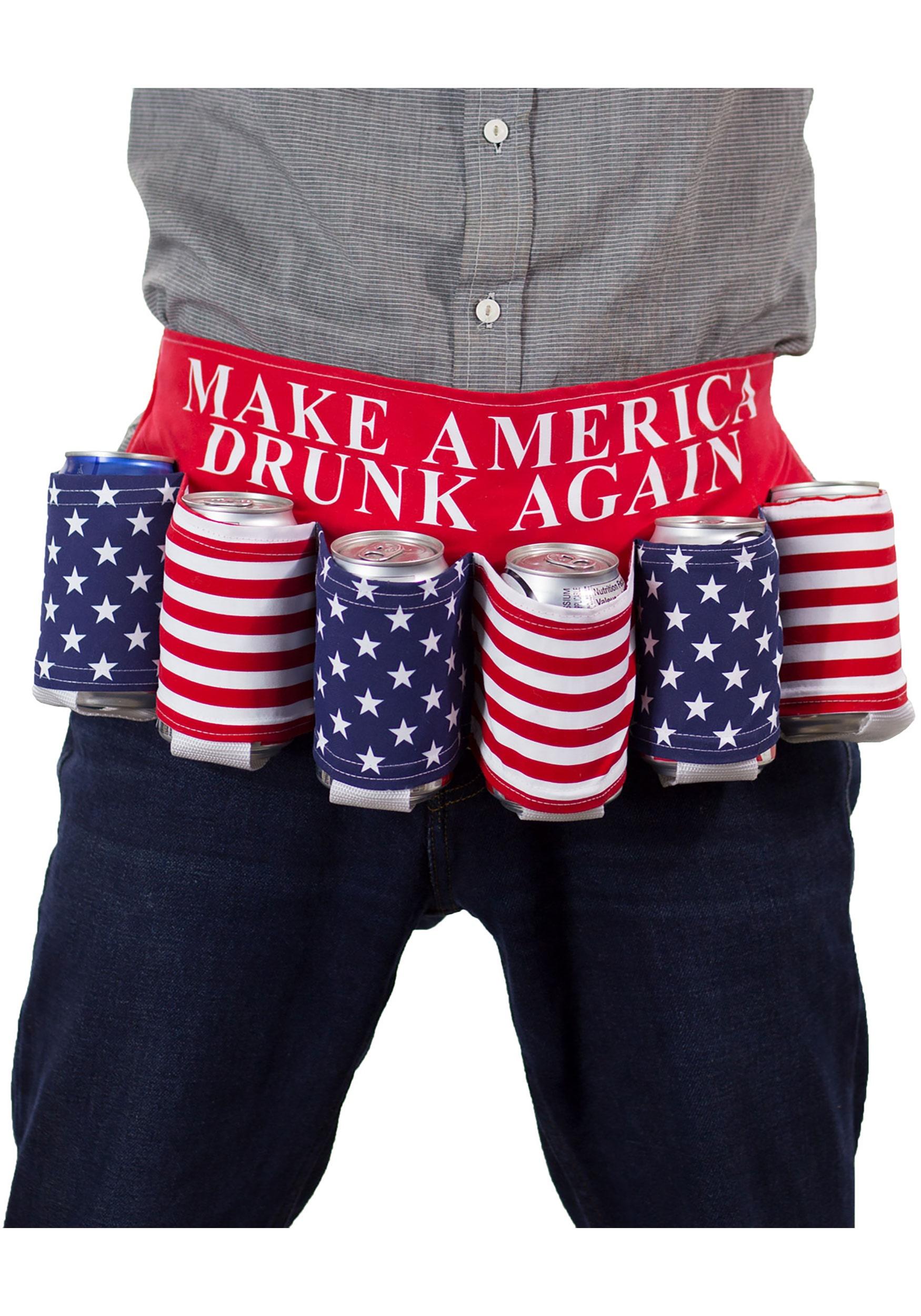 Make America Drunk Again USA Beer Belt