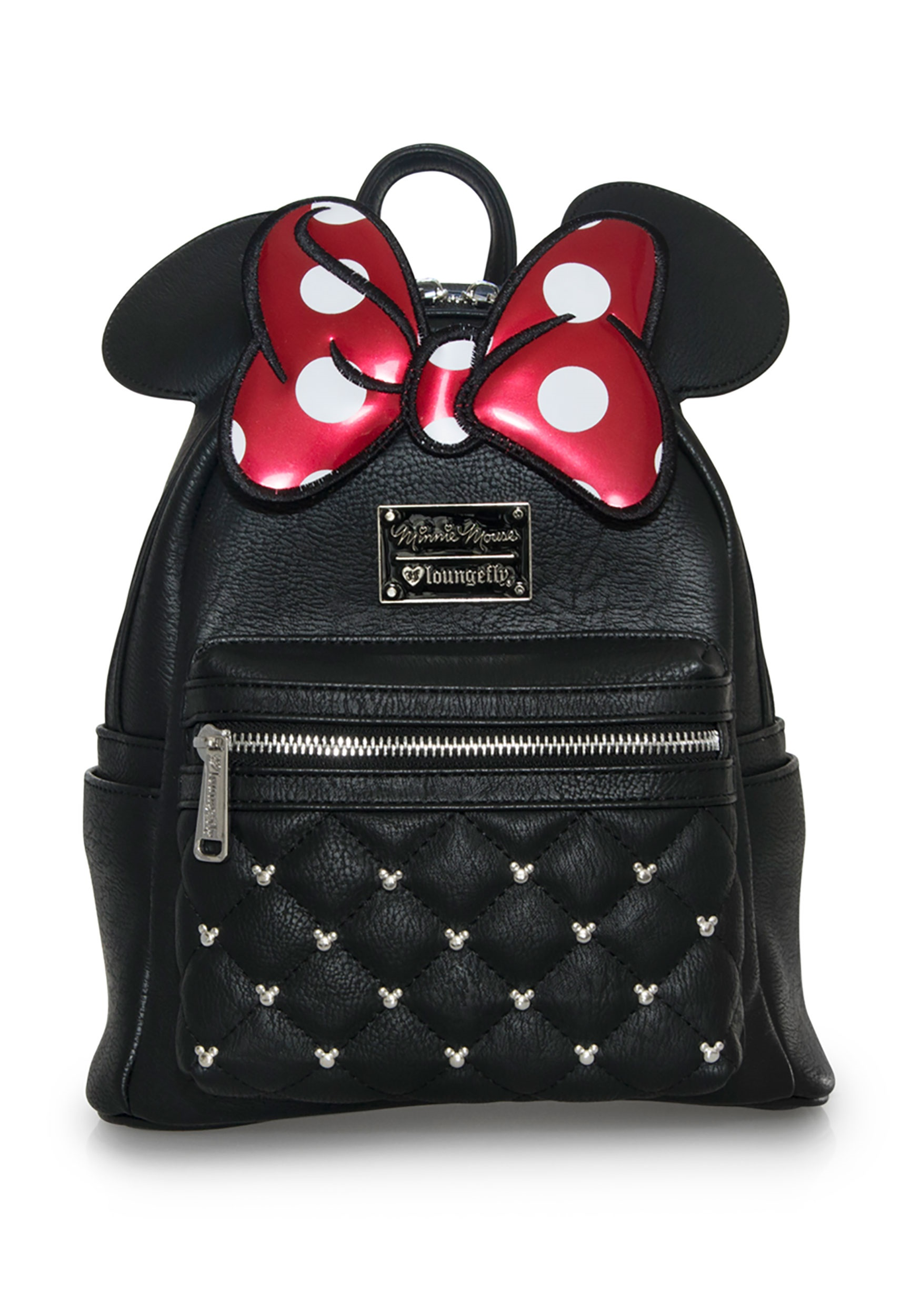 19f8a7487687 Minnie Mouse Faux Leather Mini Backpack