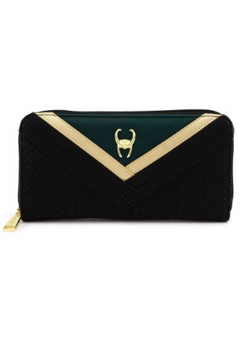 Avengers Loki Zip-Around Wallet