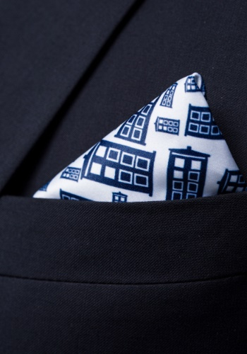 Doctor Who Tardis Subtle Suit Jacket