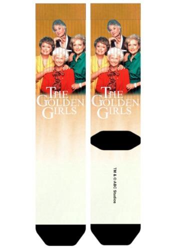 Golden Girls Group Shot Sublimated Socks for Adults