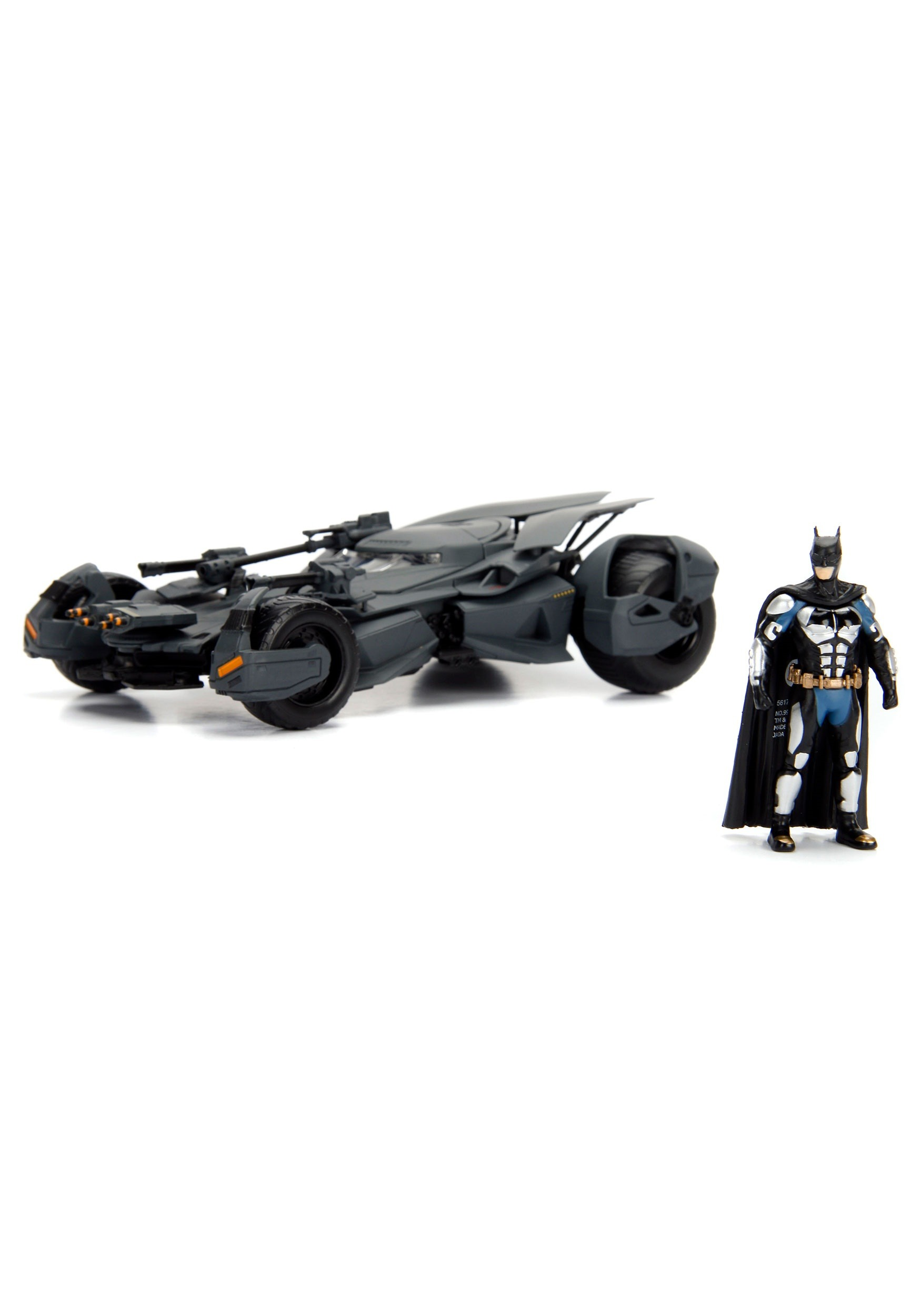 Justice League Batmobile 124 Die Cast Car With Figure