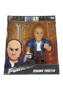 "Fast & the Furious Dominic Toretto 6"" Metal Figure"