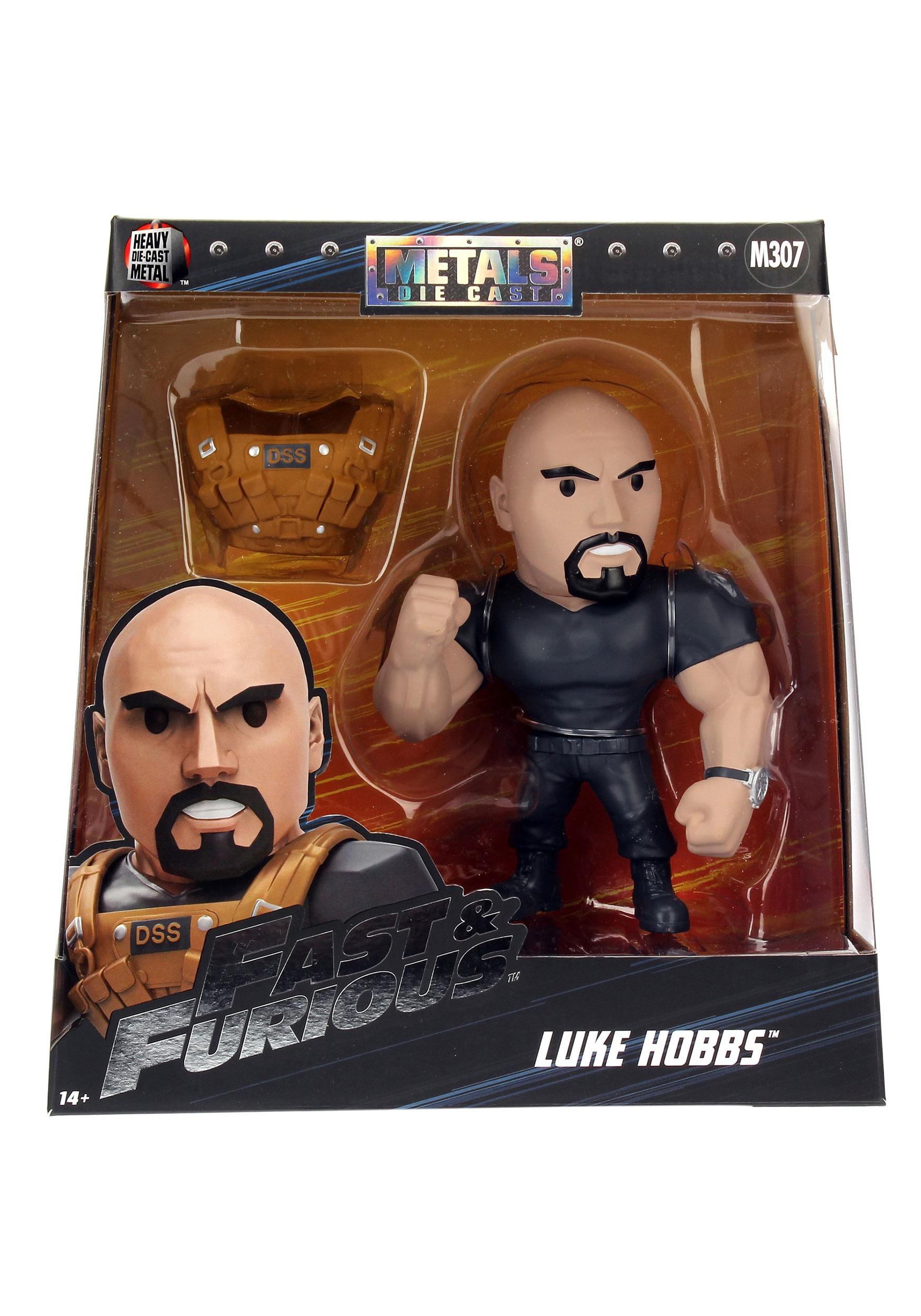 "Fast & the Furious Luke Hobbs 6"" Metal Figure JD97997"