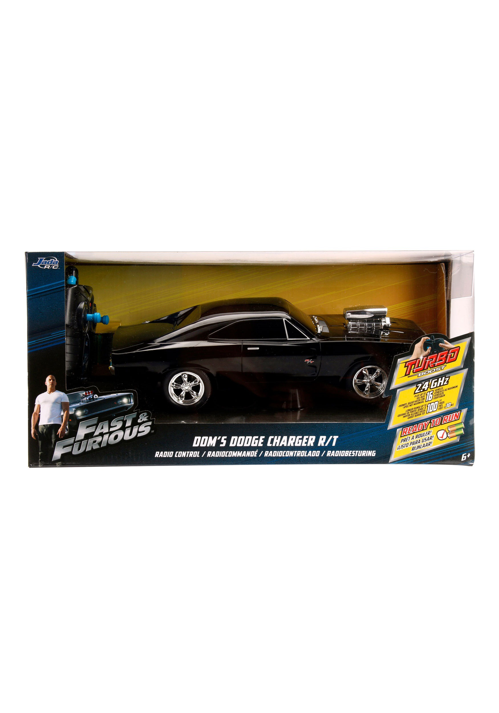 Fast And Furious Cars For Sale >> Fast & the Furious Dodge Charger 1:16 RC