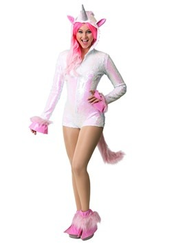 Women's Sequined Unicorn Costume update