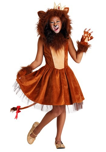 Girl's A-ROAR-able Lion Costume