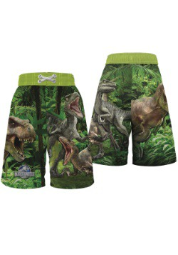 Jurassic World Boys Swim Trunks