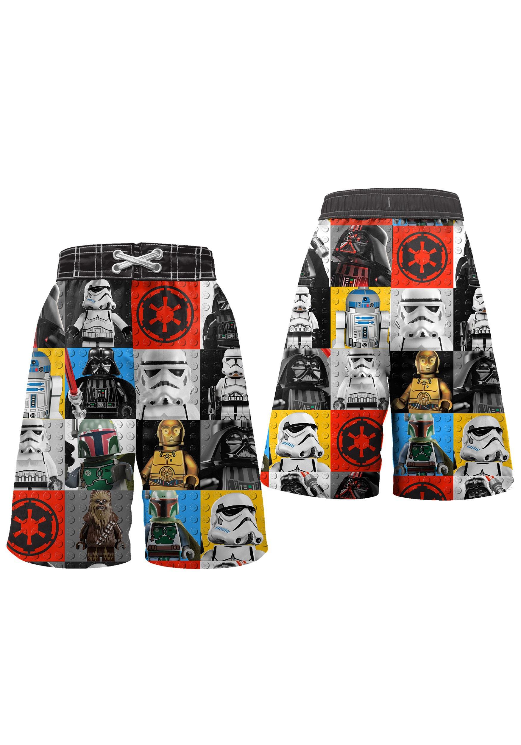 d39bd95e65 LEGO Star Wars Swim Trunks for Boys