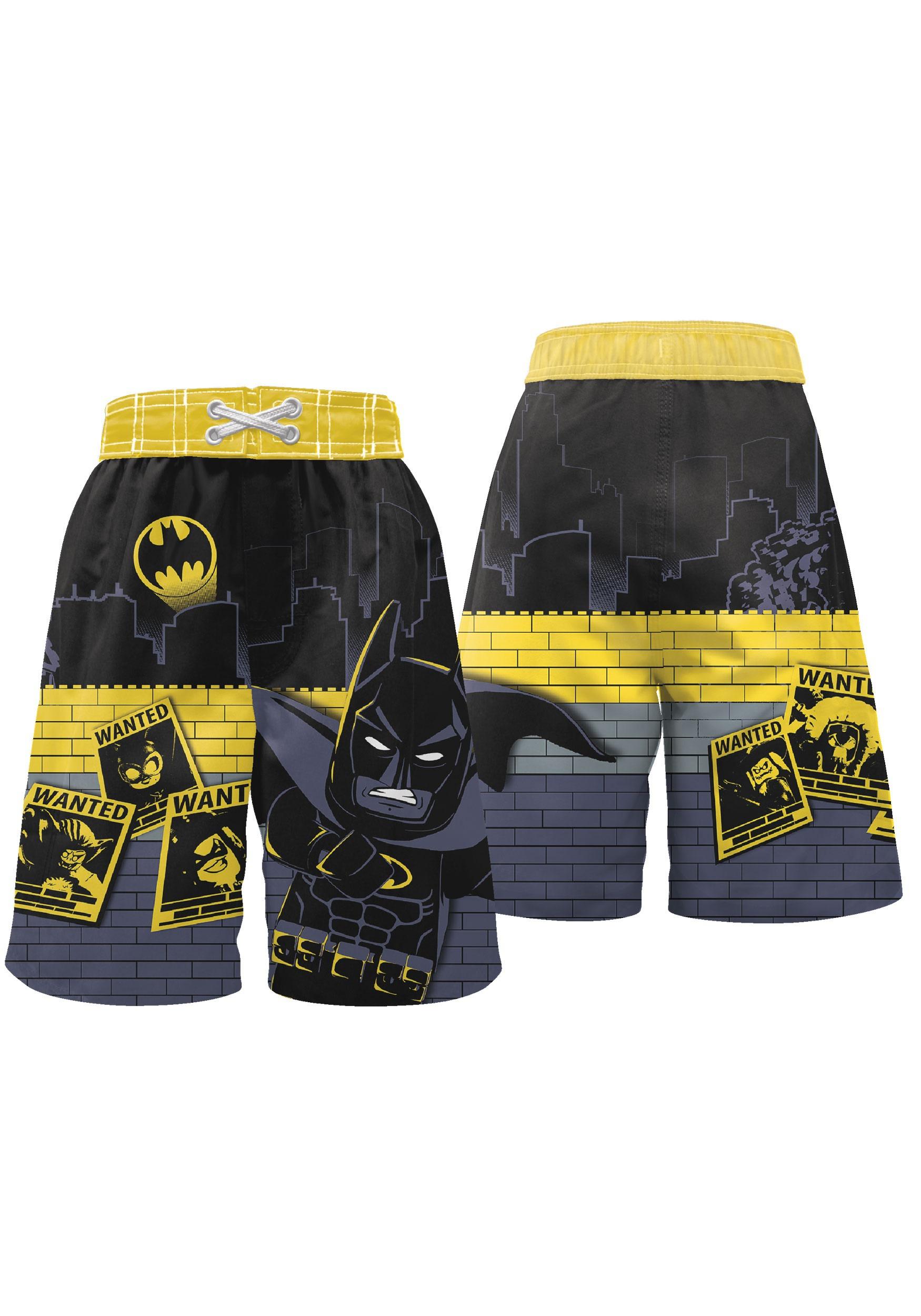 7d2bd81bc9 LEGO Batman Swim Trunks for Boys