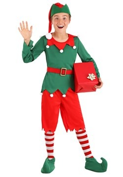 Boy's Santa's Helper Costume