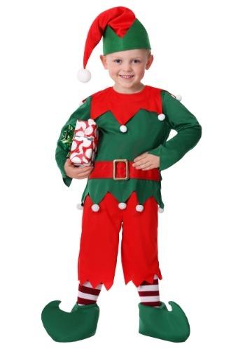 Toddler Boy's Santa's Helper Costume