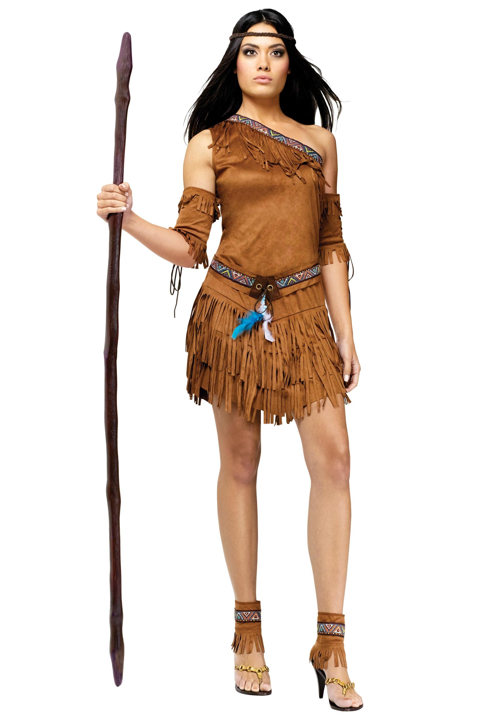 womens sexy native american costume