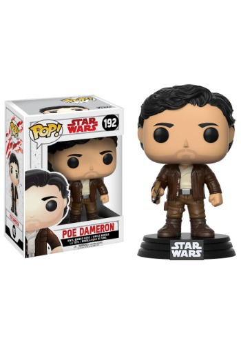 Star Wars The Last Jedi Funko POP Poe Dameron Bobblehead Figure FN14747-ST