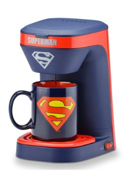 Superman Single Brew Coffee Maker