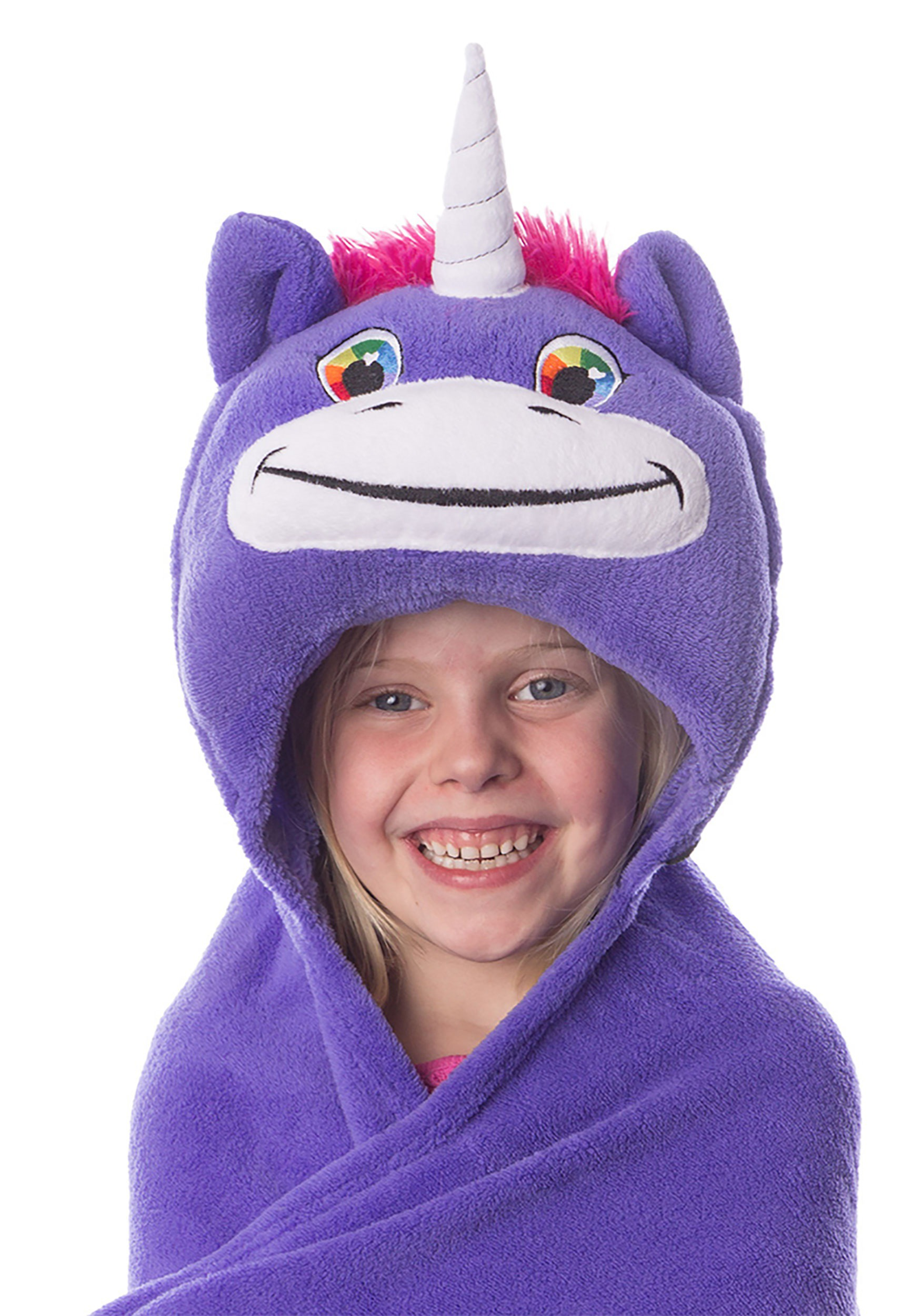 Unity The Unicorn Comfy Critters Costume Blanket