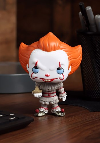 Pop! Movies: IT- Pennywise (boat) w/CHASE