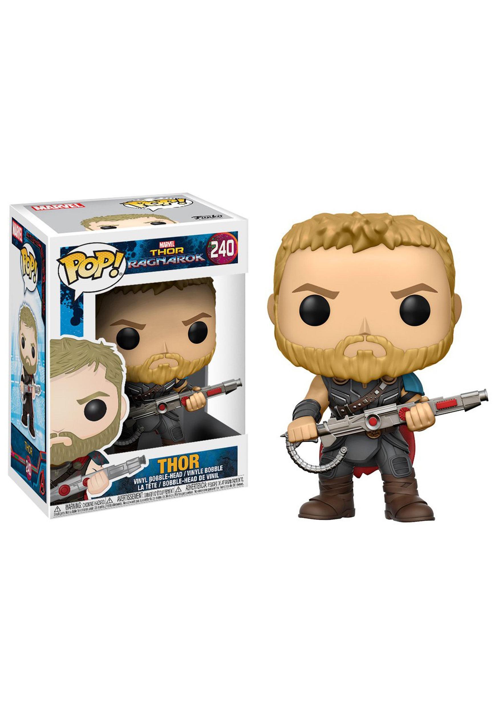 Pop Marvel Thor Ragnarok Thor Bobblehead Figure
