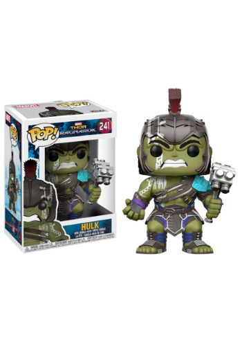 Pop! Marvel: Thor Ragnarok- Hulk Helmet Gladiator Bobblehead FN13773