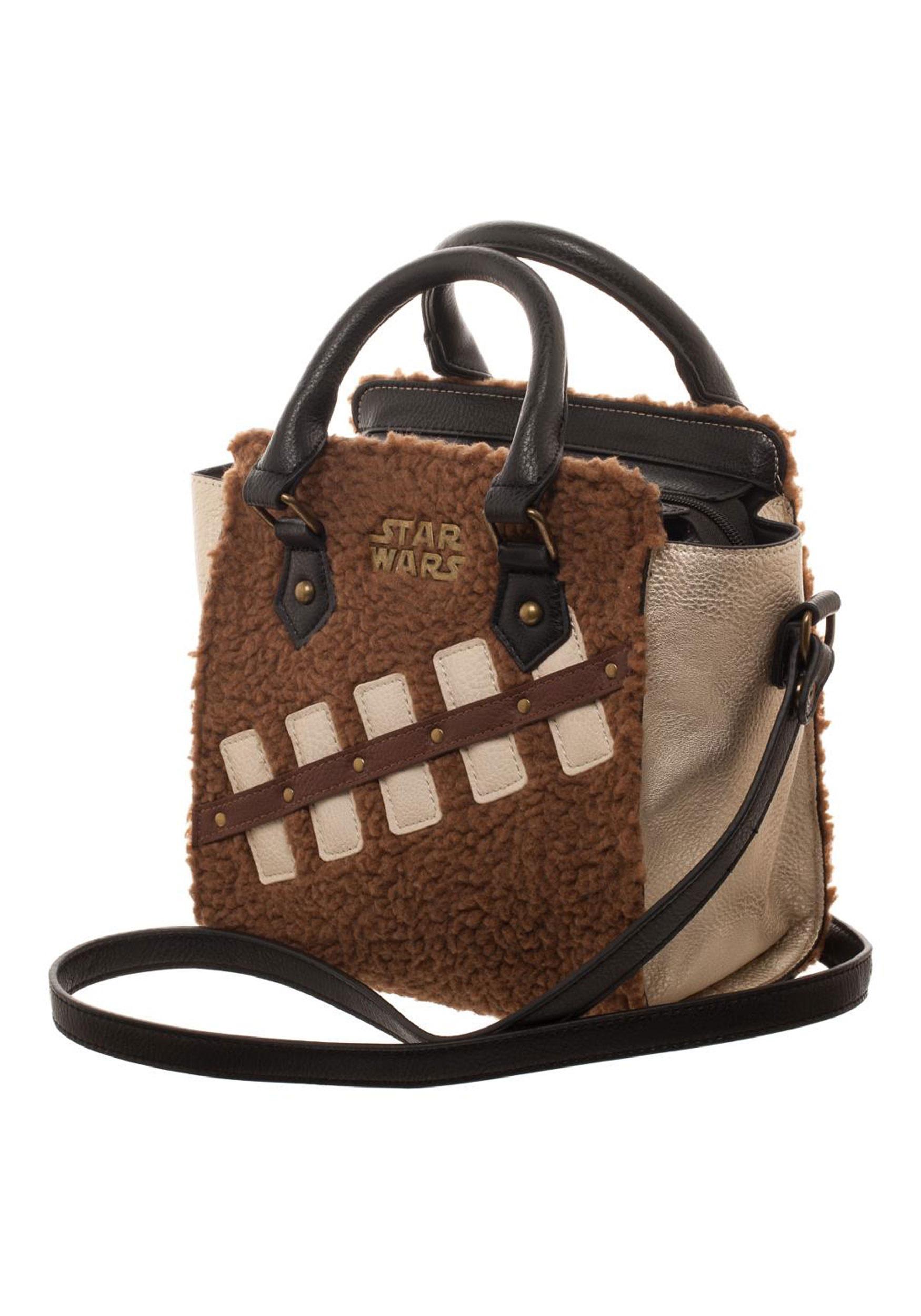 Star Wars Ep8 Chewbacca Porg Mini Handbag