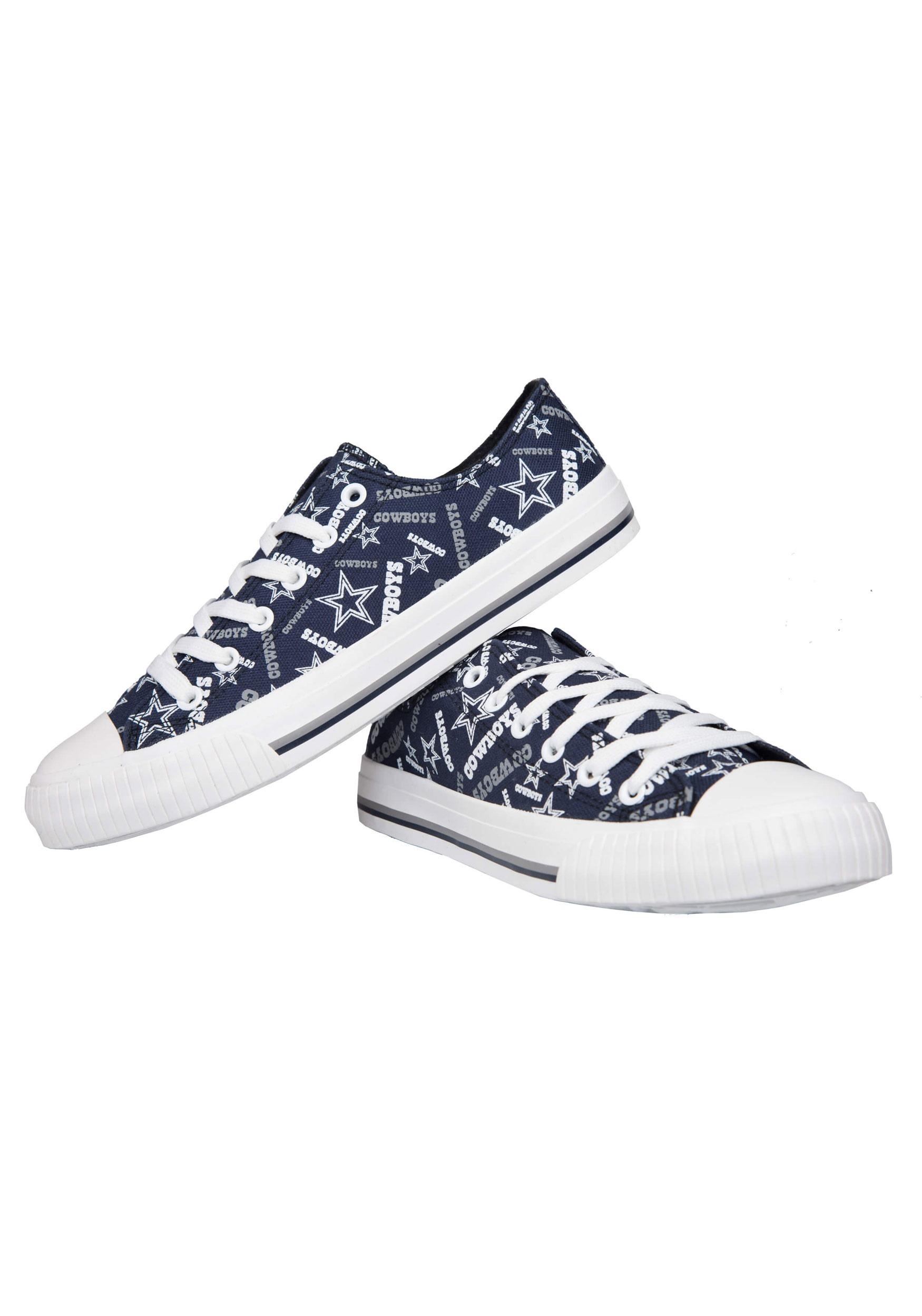 Dallas Cowboys Low Top Canvas Shoes for Women 15ec70b79