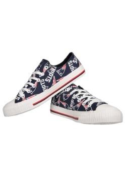 New England Patriots Low Top Women's Canvas Shoes