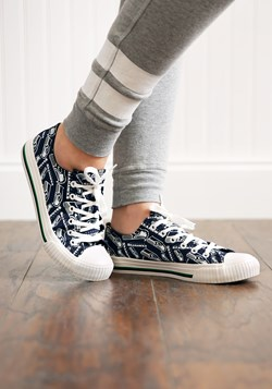 Seattle Seahawks Low Top Women's Canvas Shoes upd