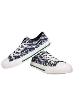 Seattle Seahawks Low Top Women's Canvas Shoes1