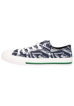 Seattle Seahawks Low Top Women's Canvas Shoes3