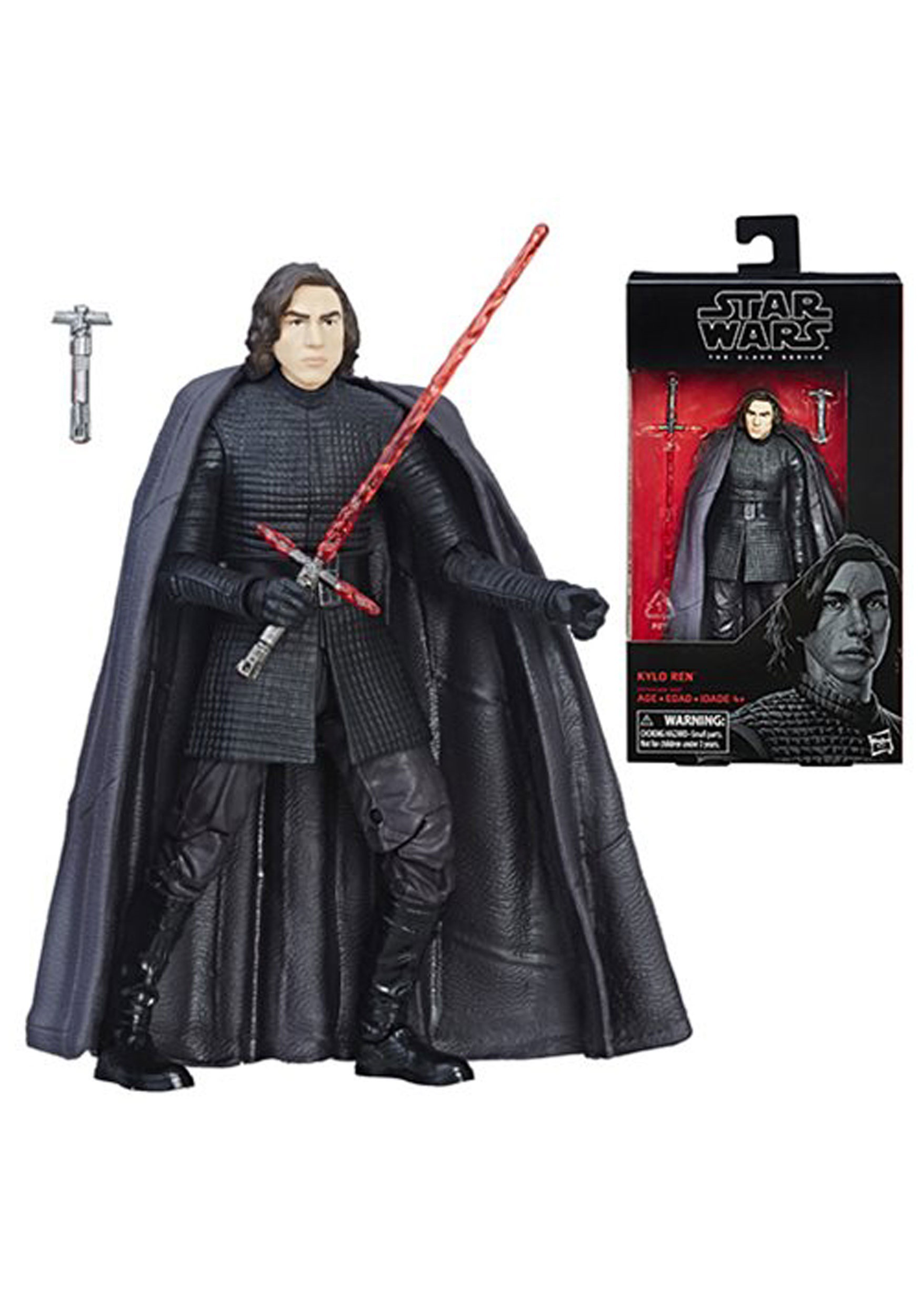 Star Wars The Black Series Kylo Ren The Last Jedi Action Figure EEDHSC1773