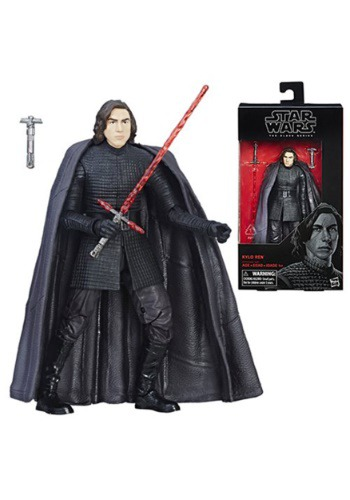 Star Wars The Black Series Kylo Ren The Last Jedi Action Figure EEDHSC1773-ST