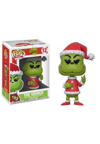 Pop! Books: The Grinch Santa Grinch w/ CHASE