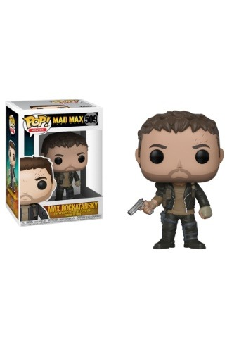 Pop! Movies Mad Max Fury Road Max w/ Gun