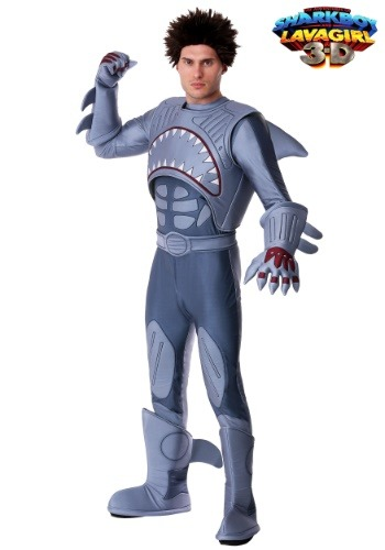 Adult Sharkboy Costume Front