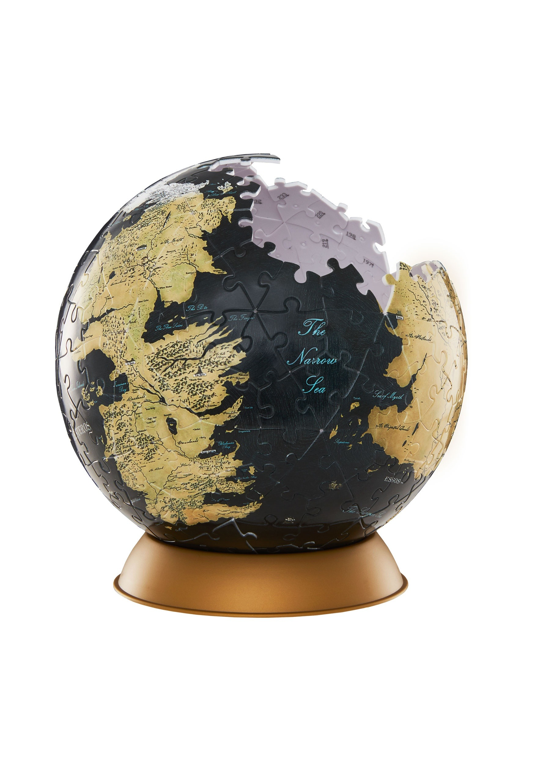 240 Pc Game Of Thrones Globe 3d Jigsaw Puzzle