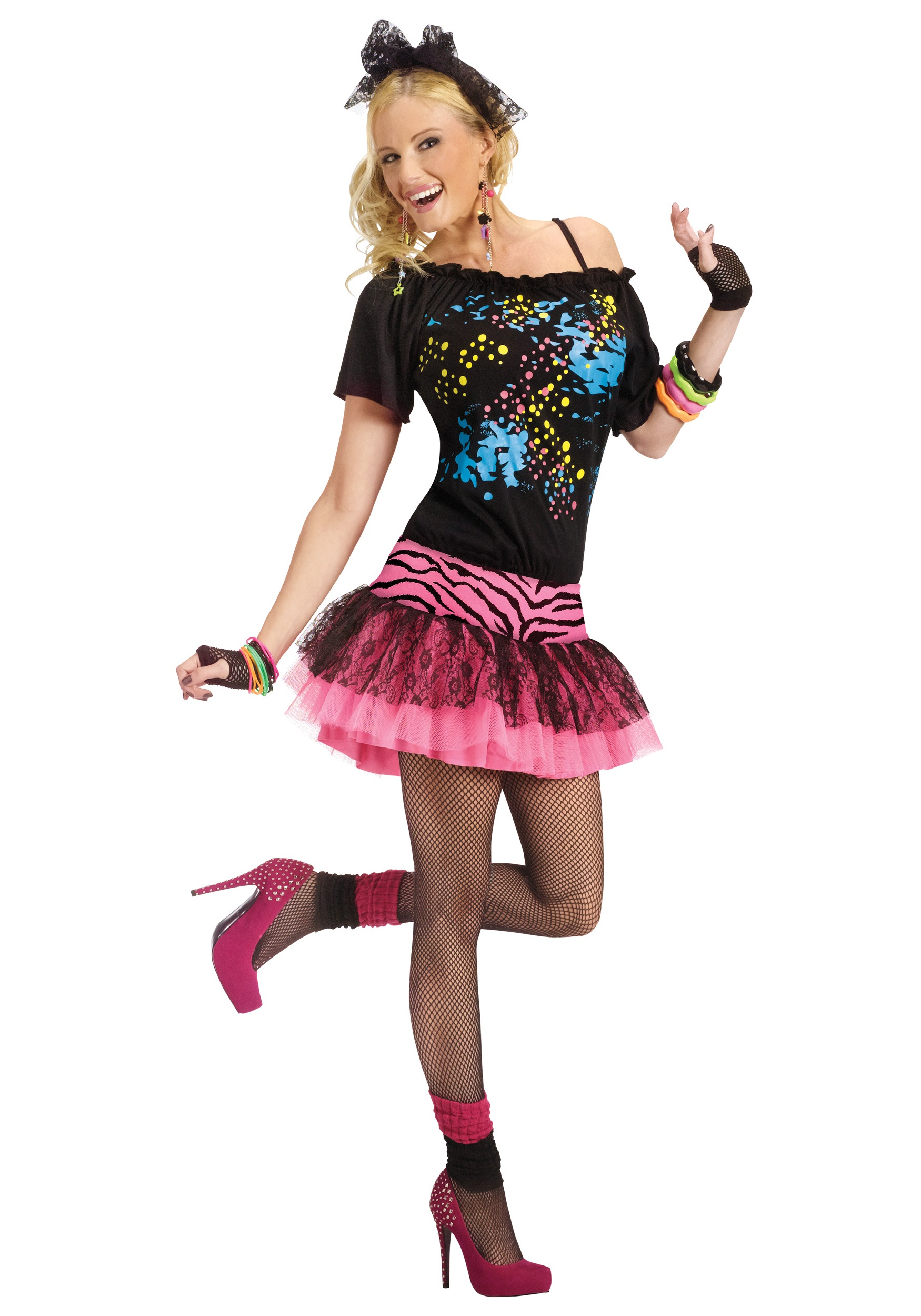how to make an 80s costume