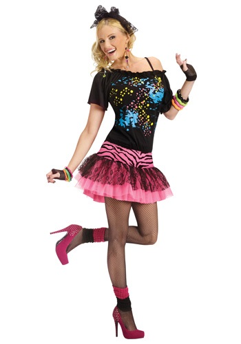 Women's Pop Party 80's Costume