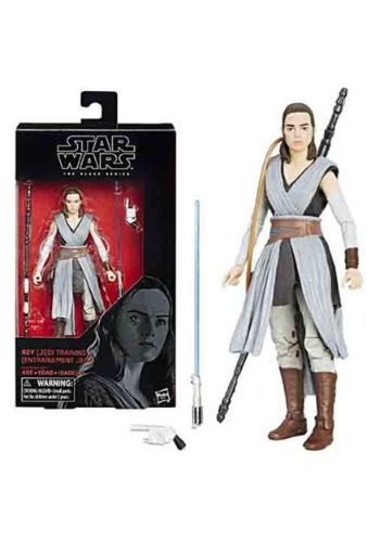 Star Wars The Black Series Rey (Jedi Training) 6-I
