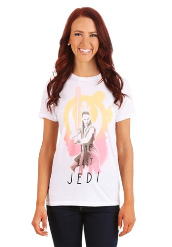 Star Wars The Last Jedi Rey Juniors T-Shirt