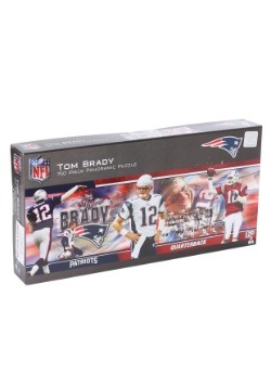 Tom Brady Patriots Panoramic Jigsaw Puzzle