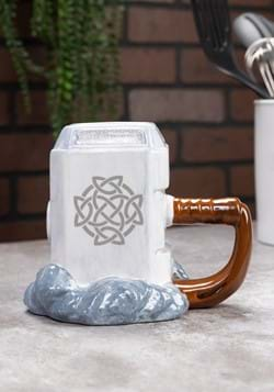 Marvel Thor Mjolnir Premium Sculpted Ceramic Mug