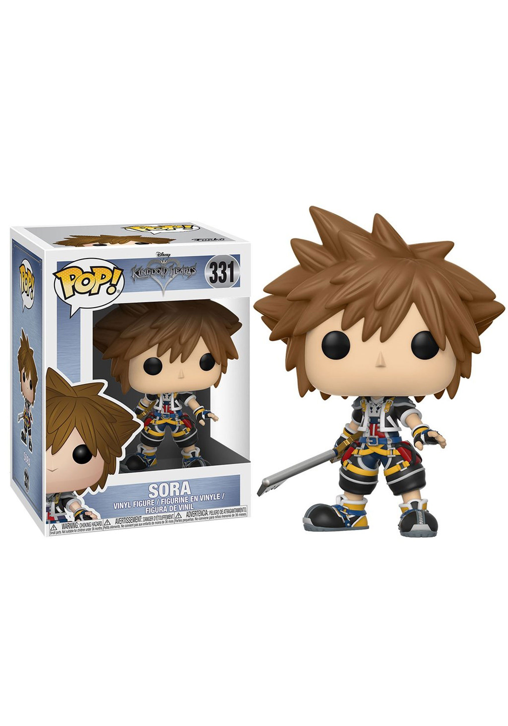 Nightmare Before Christmas Sora.Pop Disney Kingdom Hearts Sora Vinyl Figure